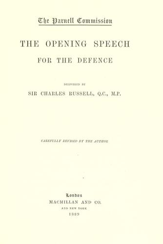 The Parnell commission