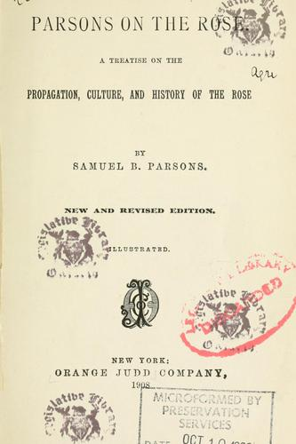 Download Parsons on the rose