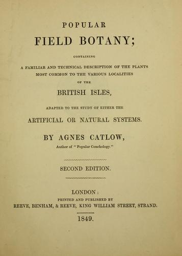 Download Popular field botany