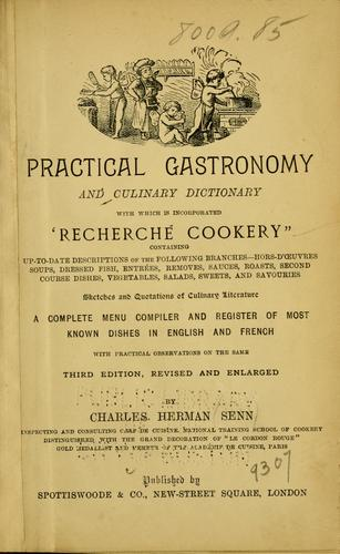 Download Practical gastronomy and culinary dictionary