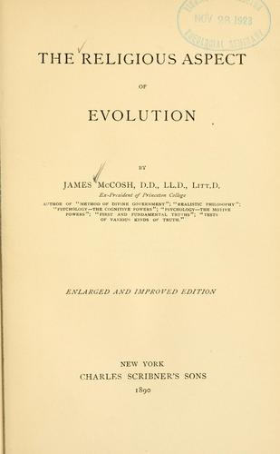 Download The religious aspect of evolution.