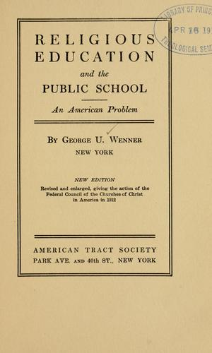Download Religious education and the public school