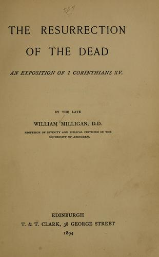 Download The resurrection of the dead