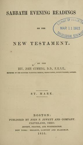 Download Sabbath evening readings on the New Testament …
