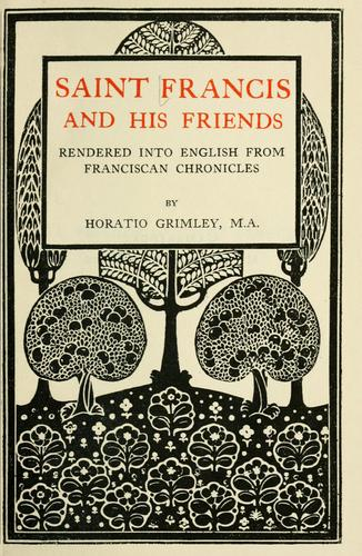 Download Saint Francis and his friends