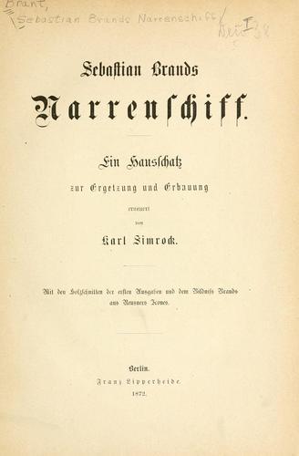 Sebastian Brands Narrenschiff.