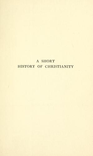 Download A short history of Christianity