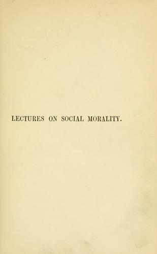 Download Social morality