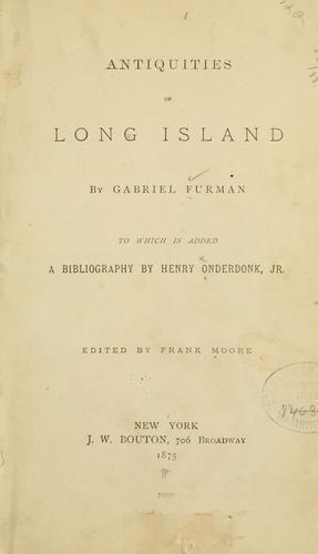 Download Antiquities of Long Island
