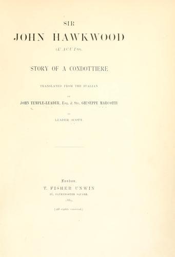 Download Sir John Hawkwood (L'Acuto)