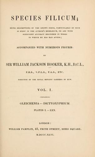 Species filicum