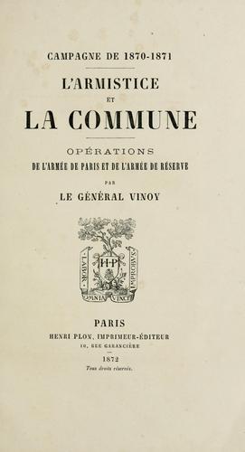 Campagne de 1870-1871.