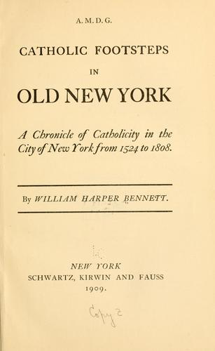 Catholic footsteps in old New York