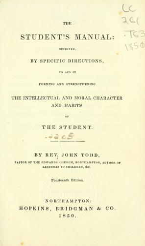 Download The student's manual