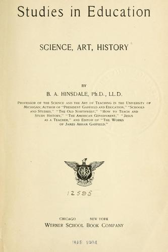 Studies in education