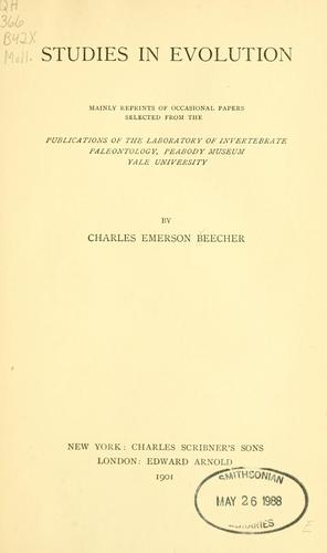 Download Studies in evolution