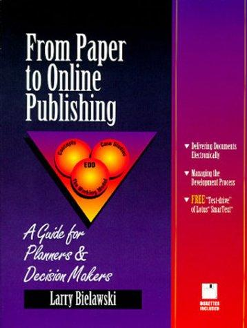 Download From Paper to Online Publishing
