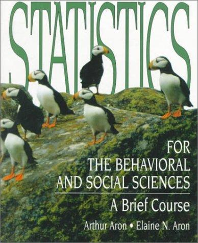 Download Statistics for the behavioral and social sciences