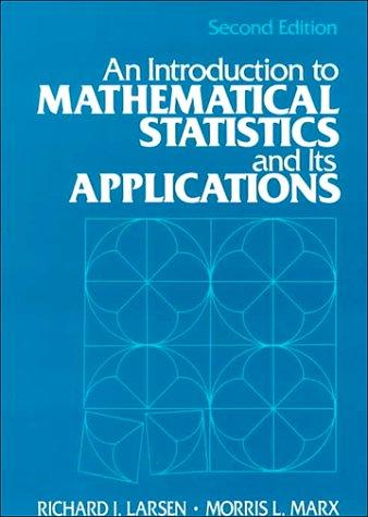 Download An introduction to mathematical statistics and its applications