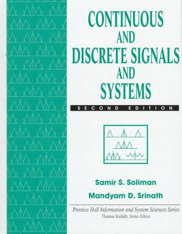 Download Continuous and discrete signals and systems