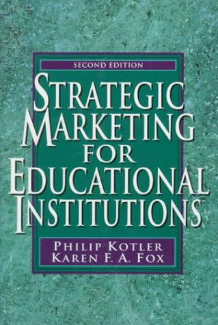 Strategic marketing for educational institutions