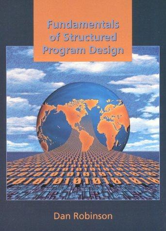 Fundamentals of Structured Program Design
