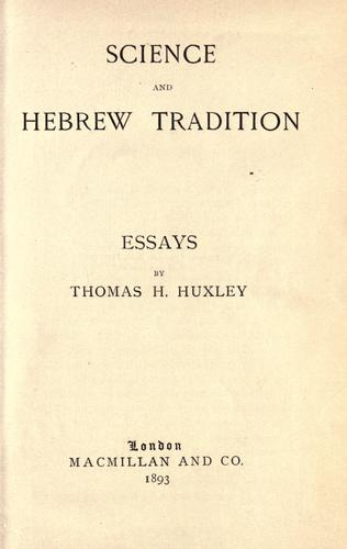 Download Science and Hebrew tradition