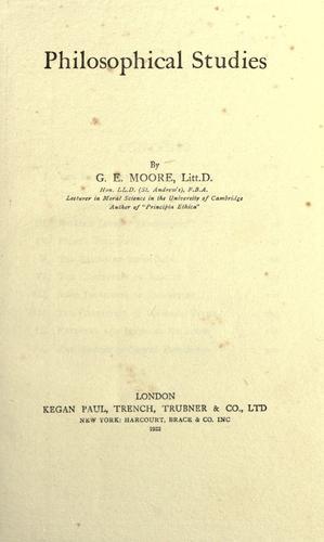 Download Philosophical studies