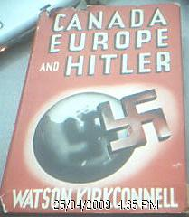 Canada, Europe, and Hitler