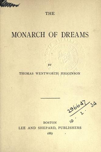The monarch of dreams.