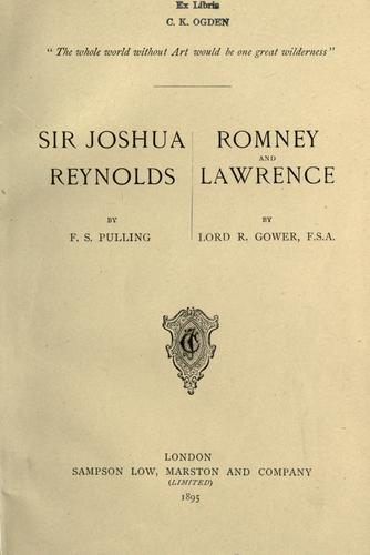 Download Sir Joshua Reynolds.