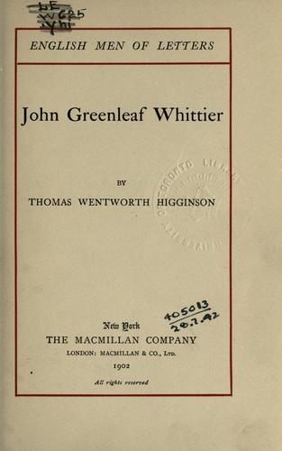 Download John Greenleaf Whittier.