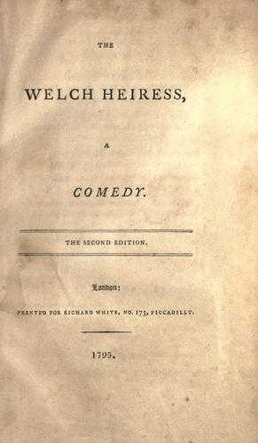 The Welch heiress