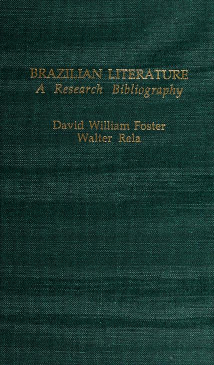 Brazilian literature by David William Foster