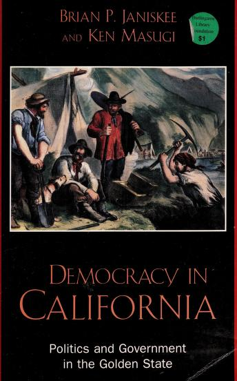 Cover of: Democracy in California | Brian P. Janiskee