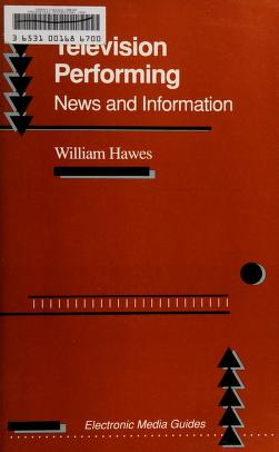 Cover of: Television performing   Hawes, William