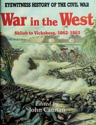 Cover of: War in the West   edited by John Cannan