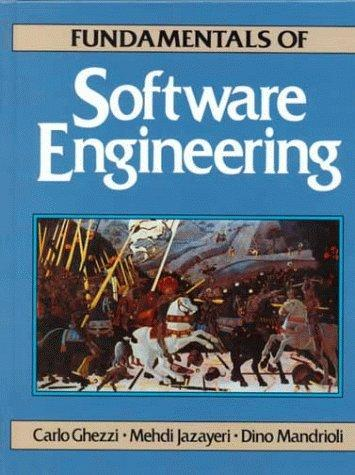Fundamentals of software engineering by Carlo Ghezzi
