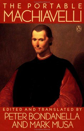 The portable Machiavelli by Niccolò Machiavelli